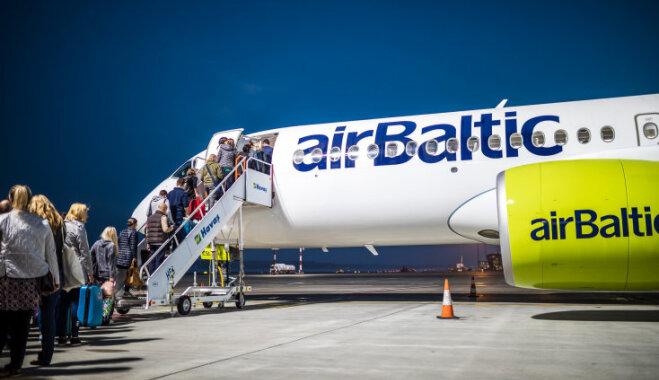 'airBaltic' turpmāk piedāvās piemaksāt par smagāku rokas bagāžu
