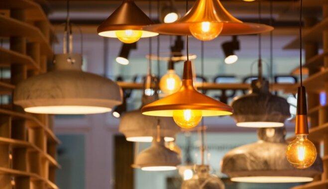 Domā par gaismu, nevis lampām – svarīgākais par gaismas ķermeņu izvēli mājoklī