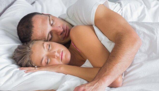 10 причин, почему сон с любимым человеком полезен для здоровья