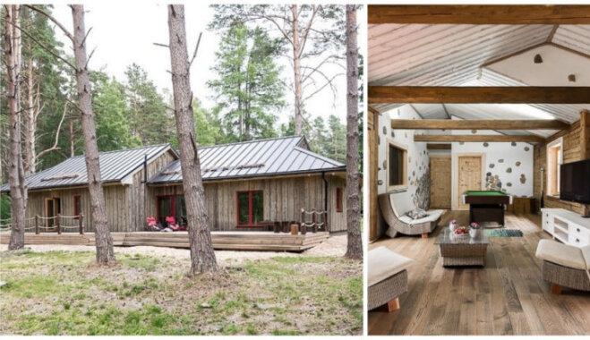 Foto: Koka māja kā svaiga gaisa malks iesmakušajā ekoglamūra pasaulē