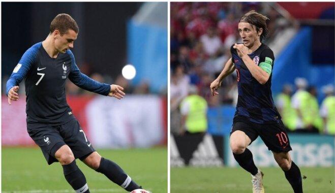 Финал. Франция— Хорватия (2:1). Онлайн дня