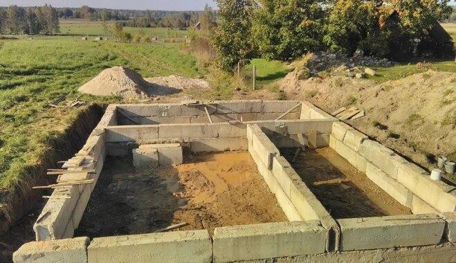 Nekas nav neiespējams – soli pa solim, kā izbūvēt mājas pamatus