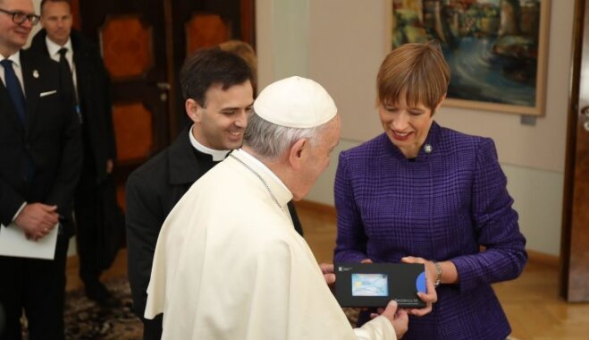 Папа Римский Франциск I стал е-резидентом Эстонии