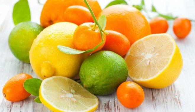 Citrusaugļi – vitamīnu lādiņš ziemā, ar ko nevajag pārspīlēt