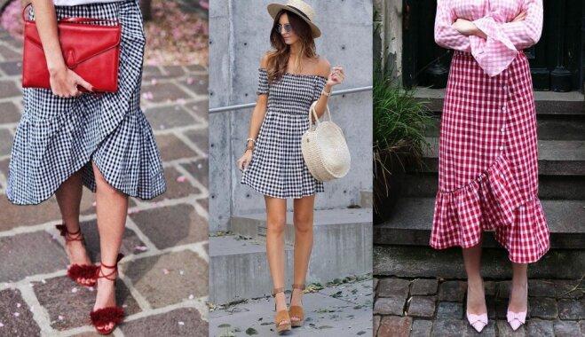 Клетчатое безумие: как ввести этот модный тренд в свой гардероб