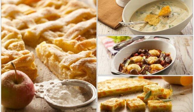 Virtuves maģija rudens ritmos: 4 kārtu brīvdienu maltīte ar cieto sieru