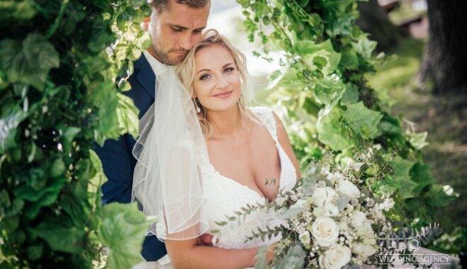 Iedvesmas deva: Hannas un Aivara romantiskās trīs dienu kāzas 100 cilvēkiem