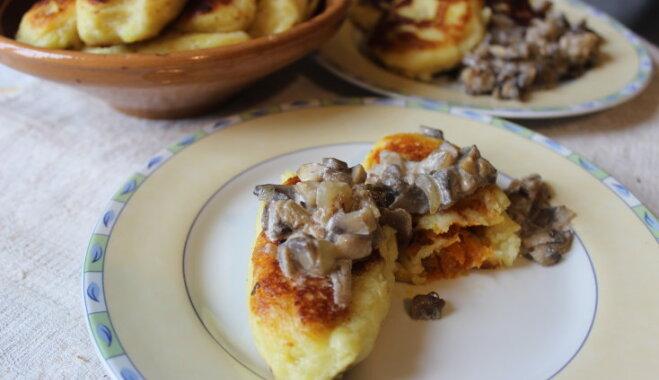 Kartupeļu plāceņi jeb guļbešņīki