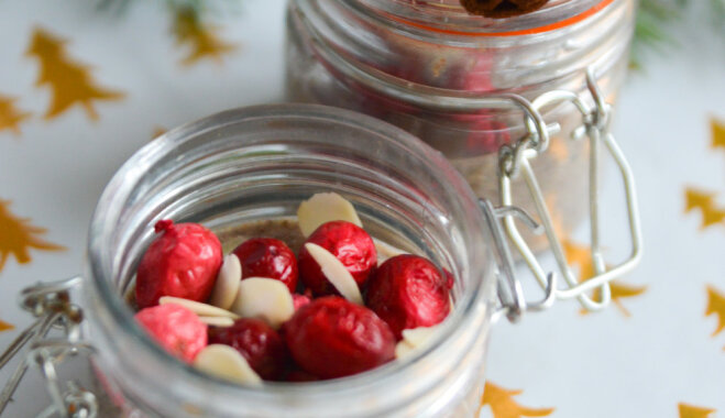 Рецепт для малышей: рождественский пудинг из семян чиа