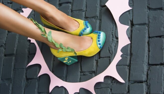 Foto: Pašmāju dizaina apavu zīmols 'SAZ' atrāda pavasara/vasaras jauno kolekciju