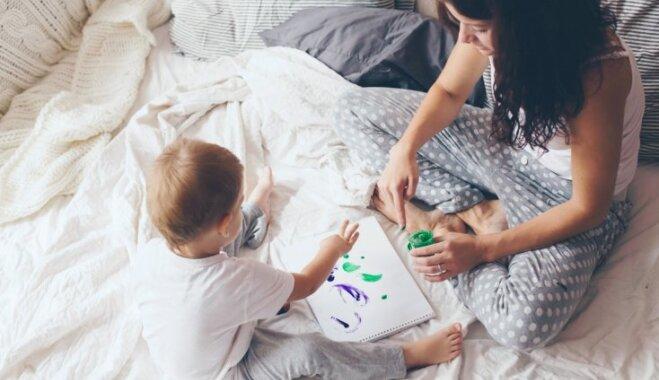 Kas traucē kļūt par 'slinko mammu'