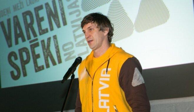 Sandis Ozoliņš – Latvijas karognesējs Sočos