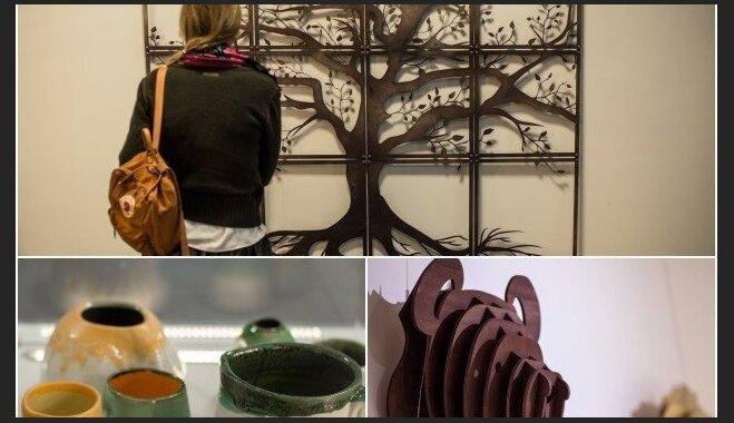 Foto: Latvieši un lietuvieši kopā rada unikālus dizaina objektus