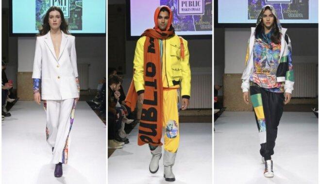Foto: Pašmāju zīmols 'Public Makes Image' debitē Milānas modes nedēļā