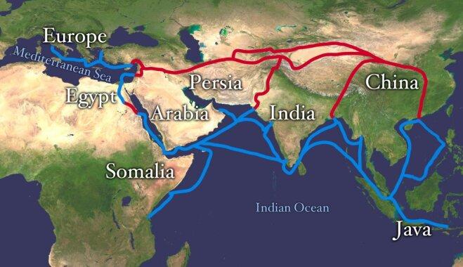 Шелк, специи, янтарь и соль: 8 торговых путей, сформировавших мировую историю