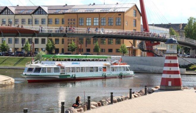 Aicina doties braucienā ar kuģi no Jelgavas uz Jūrmalu