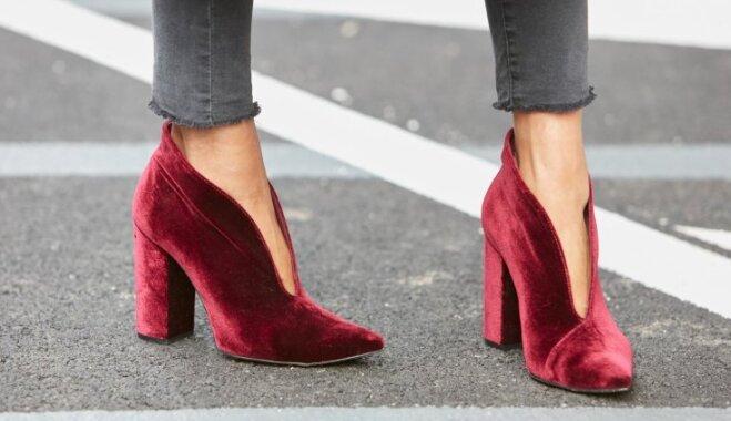 Uzmanības centrā – augstpapēžu kurpes. Stila grēki, kurus nepieļaut