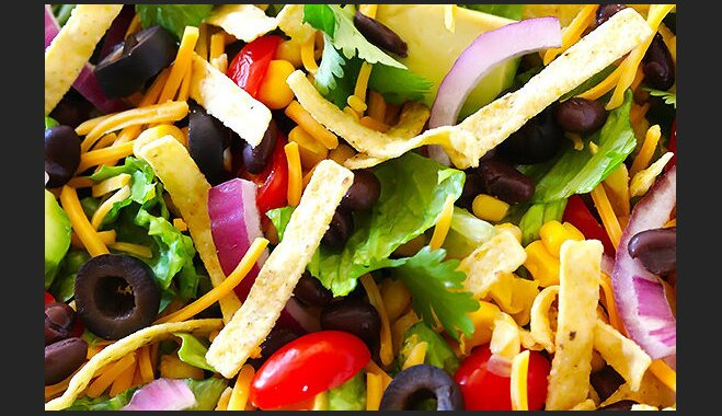 Легкий салат Тако