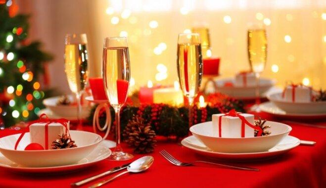 Svētku galda dekorēšanas 'knifiņi'