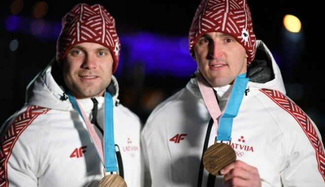 Латвия заняла десятое место в мире по числу медалей на Олимпиаде в Пхенчхане