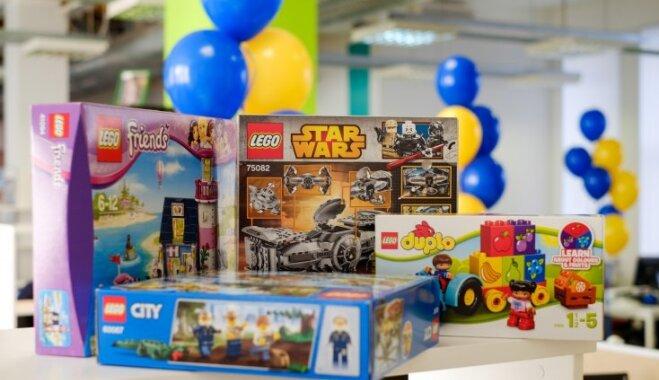 Pirmssvētku konkurss par 'Lego' noslēdzies