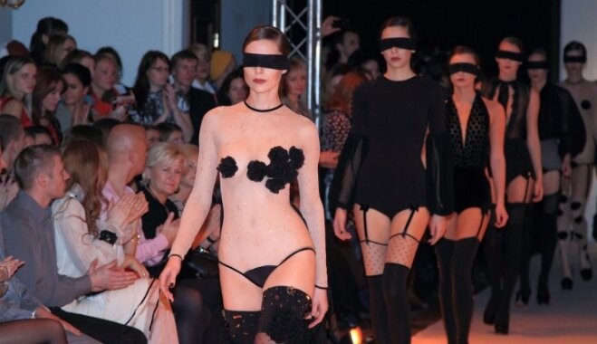 SockBox jaunā zeķu kolekcija Riga Fashion Week ietvaros