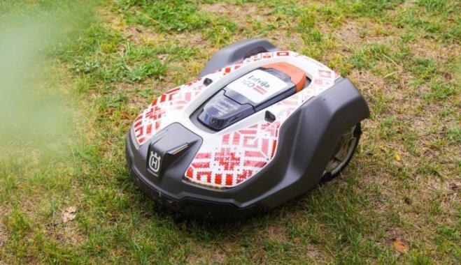 Lasi atsauksmes, kā 'Husqvarna' robotizētajam zāles pļāvējam 'Automower' veicies, saimniekojot publiskās vietās