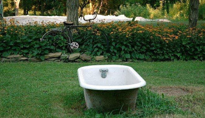 Personīgais spa zem klajas debess – fantastiskas idejas āra vannām