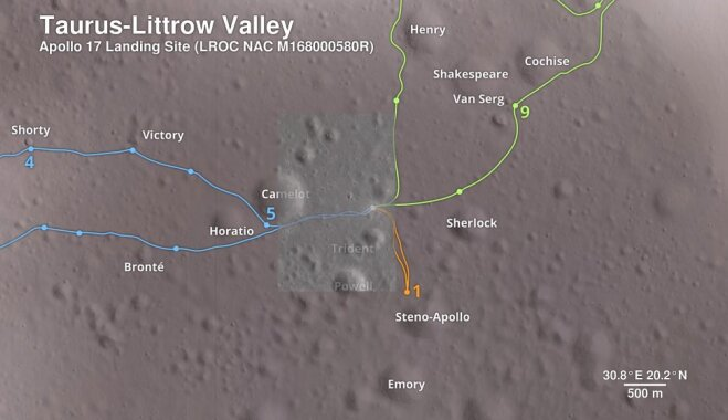NASA опубликовало виртуальный тур по Луне (ВИДЕО)