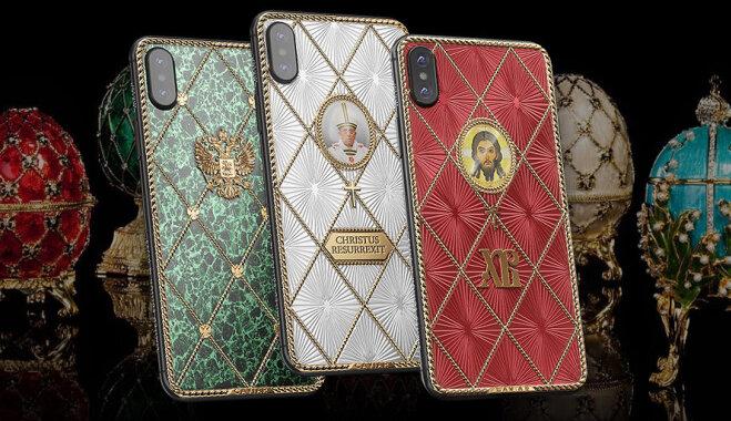 Caviar выпустил перед Пасхой «христианские» iPhone