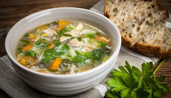 Куриный суп с лапшой по-китайски