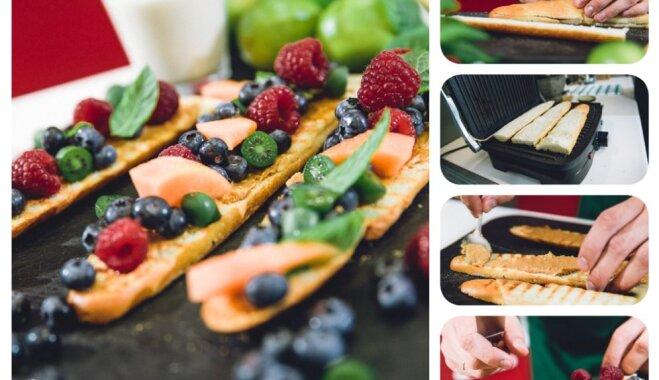 Svaigas idejas ātri pagatavojamām, veselīgām skolēnu brokastīm
