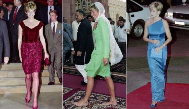 Princeses Diānas garderobes zelta likumi un zīmīgākie tērpi