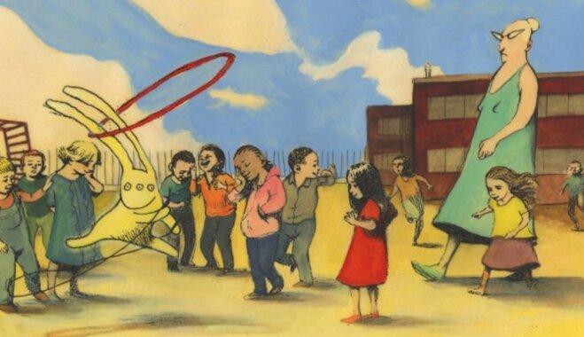 Angļu bērnu grāmatu autori Aleksis Dīkons un Heimišs Stīls aicina uz bezmaksas publisko lekciju