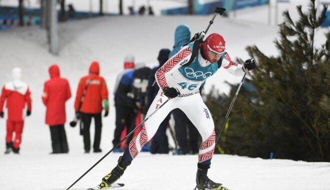 Rastorgujevs olimpiskajās sprinta sacensībās netrāpa trīs mērķos un finišē TOP 25