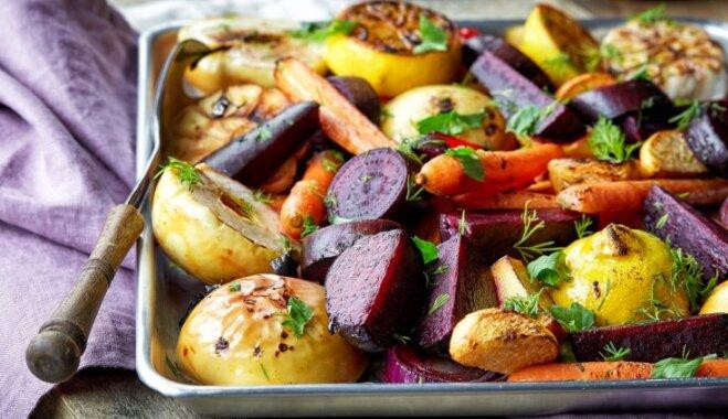 Glazēti un garšaugos apviļāti: 17 variācijas krāsnī ceptiem dārzeņiem