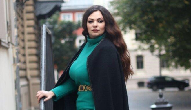 Lielo izmēru modele Katerina Strogonova: ir jābūt harmonijā ar sevi un jātiecas pēc veselīga svara