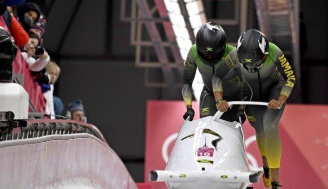 Jamaikas olimpiskā bobslejiste pieķerta dopinga lietošanā, pieprasa B proves pārbaudi