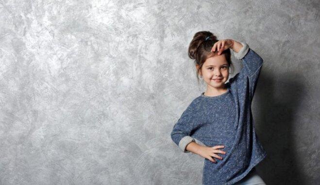 Stiliste: bērnu modē šoruden dominē 'unisex' un 'oversize'