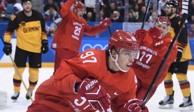 Российские хоккеисты в драматичной борьбе завоевали золото олимпийского турнира