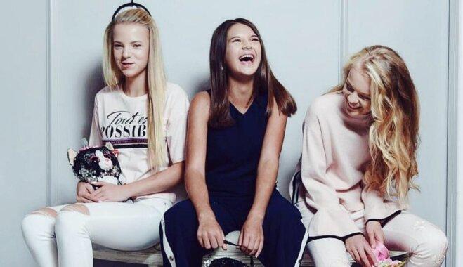 Модный детский бренд ищет новые рекламные лица в Прибалтике