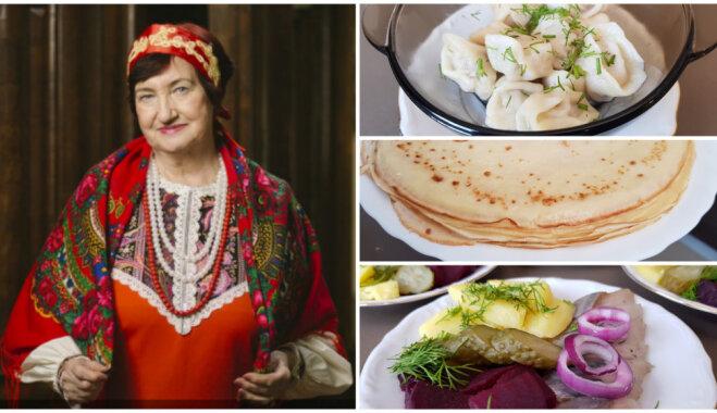 'Īstās Latvijas saimnieces' piedāvā: krievu virtuves receptes no Raisas Kozačenko