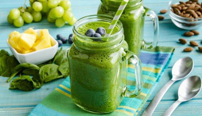 Par zaļu pat vēl zaļāks: 5 veselīgi vegānie graudaugu kokteiļi superātrām brokastīm