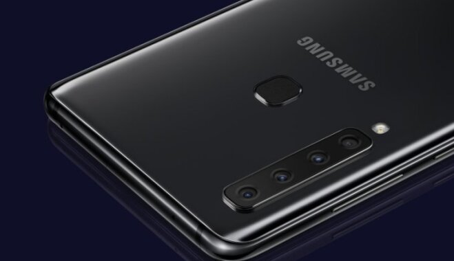 Samsung представила смартфон с четырьмя модулями основной камеры