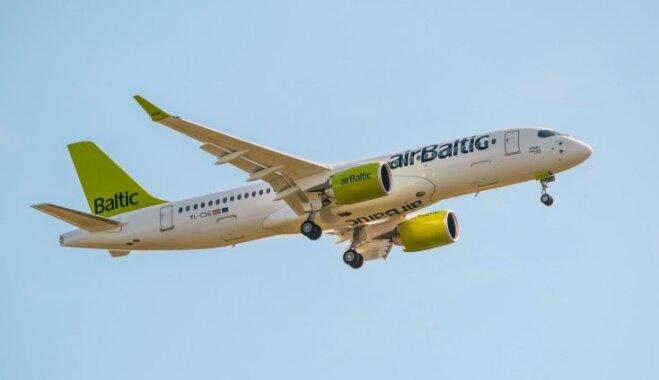 'airBaltic' arī ziemā turpinās lidot uz Liepāju; mainīsies reisu dienas
