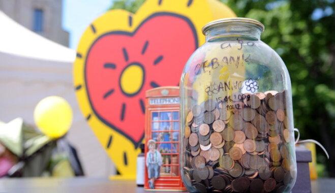 Par 'Labestības dienā' saziedotajiem 102 811 eiro varēs palīdzēt visiem slimajiem bērniem