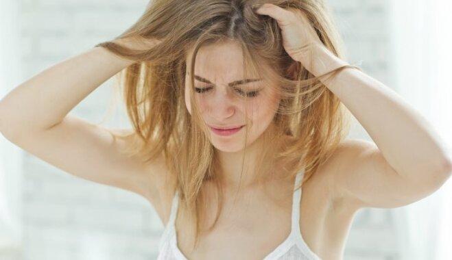Kā atjaunot bojātus, sausus un nespodrus matus