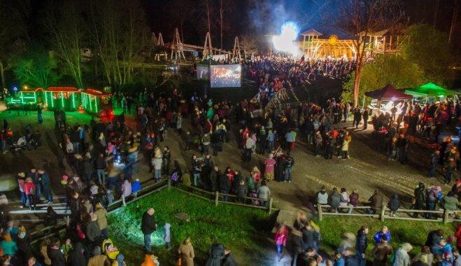 Природный парк в Тервете приглашает провести Вальпургиеву ночь в Сказочном лесу