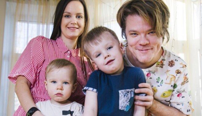 Grēviņu ģimene iesaka sešas idejas, ko ar bērniem sadarīt aukstā laikā