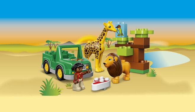 Konkurss par 'Lego Duplo' komplektu 'Savanna' noslēdzies